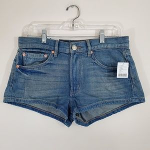 BDG UO Denim Essential Mid-Rise Shorts